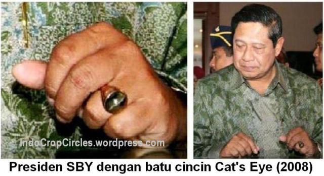 Cincin Batu Akik SBY