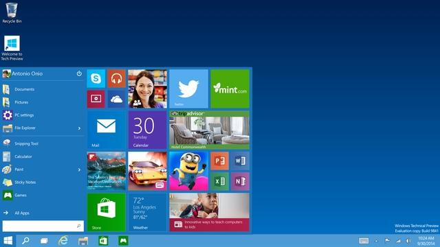 Fitur Windows 10