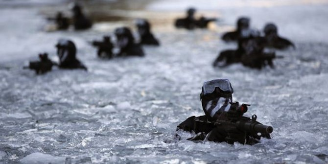 Kopassus Latihan di Korea Selatan Kalahkan Pasukan Komando Korea Selatan 1