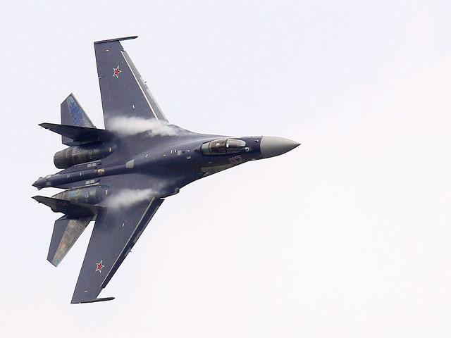 Ilustrasi Sukhoi Su-35 TNI AU