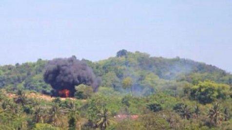 Lokasi Jatuhnya Pesawat TNI AU yang Tabrakan di Langkawi Malaysia