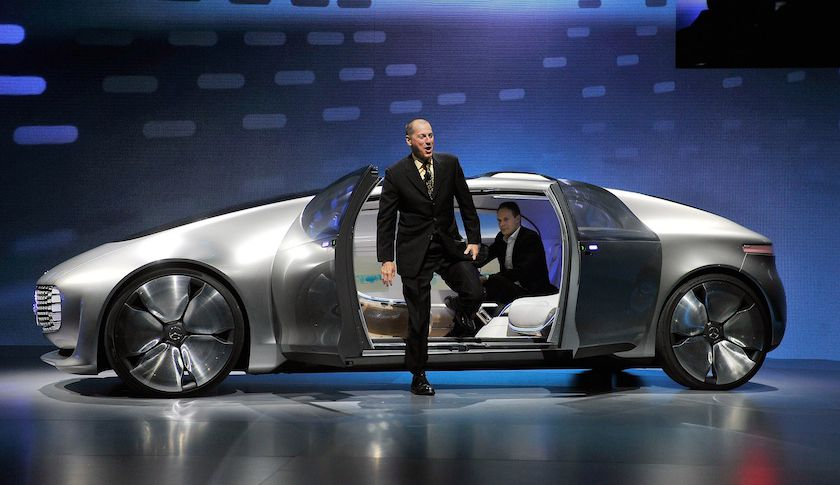 Inovasi Terbaru Mobil Autonomous Mercedes Benz F015