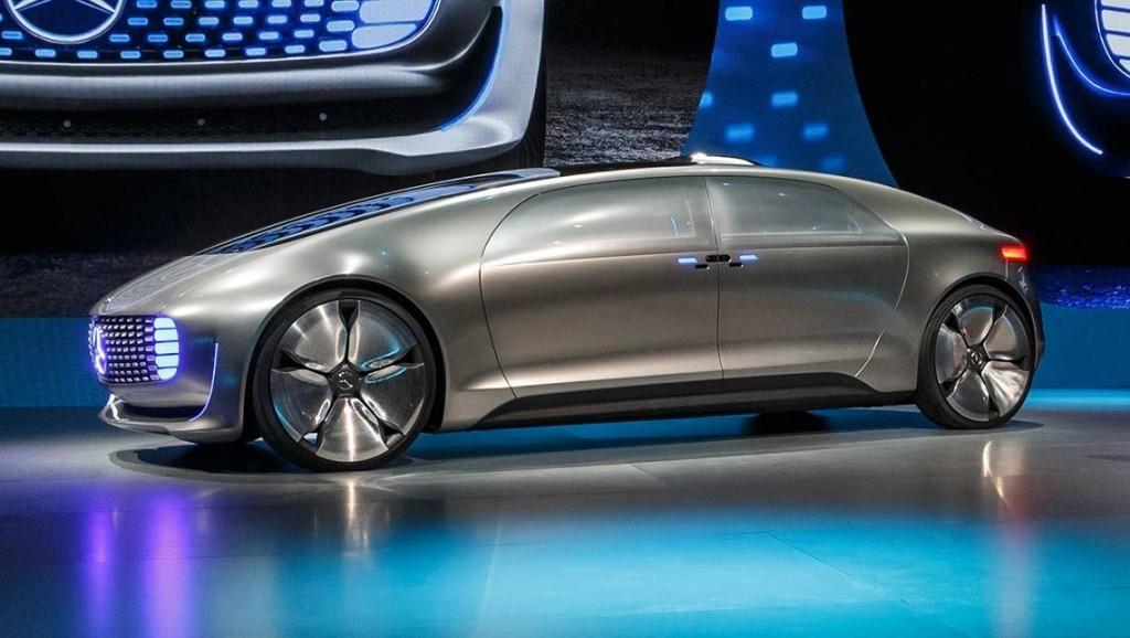 Mobil Autopilot Mercedes Benz F015 Luxury