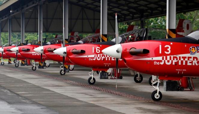 Pesawat KT-1 Wong Bee TNI AU yang Terlibat Tabrakan di Langkawi Malaysia