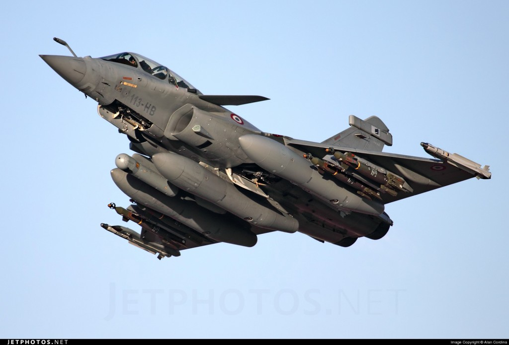 Pesawat Tempur Prancis Dassault Rafale