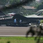 F-16 TNI AU Setelah Api Padam