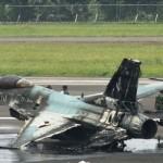 F-16 TNI AU Terbakar di Halim