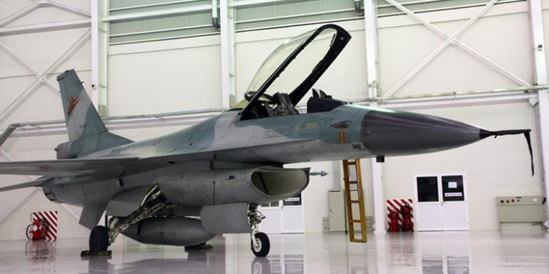 Jenis Pesawat F-16 TNI AU yang Terbakar
