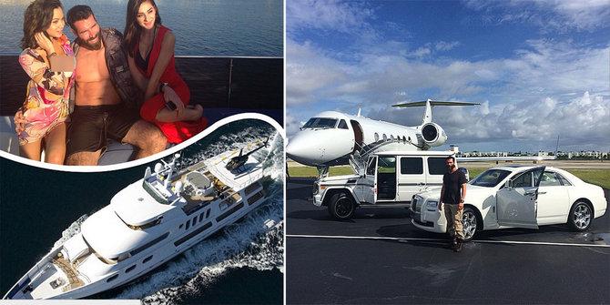 Orang Supertajir Pamer Kekayaan di Instagram