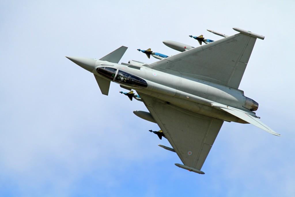 Produksi Jet Tempur Eurofighter Typhoon