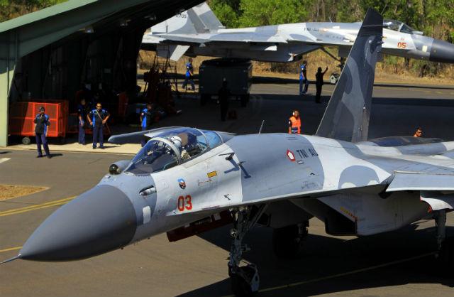 Sukhoi Su 27 TNI AU