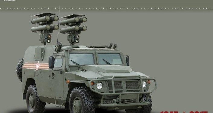 ATGM Kornet-D1 Dengan Platform Kendaraan Infateri GAZ Tigr