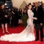 Kim Kardashian & Kanye West di Met Gala 2015