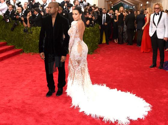 Kim Kardashian & Kanye West di Met Gala 2015 4