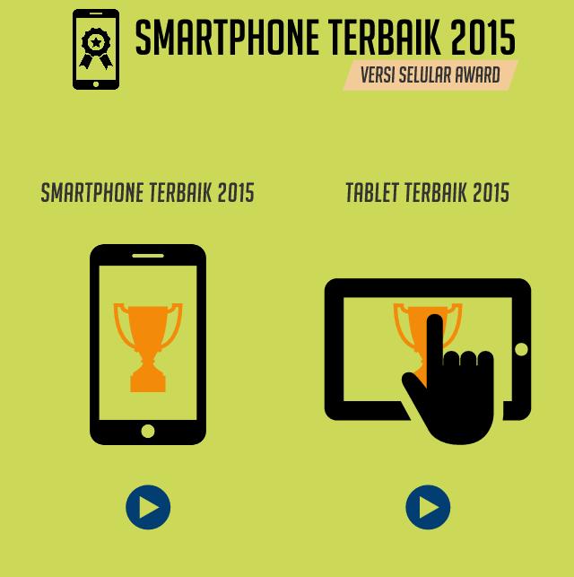 Infografis Smartphone & Tablet Terbaik 2015