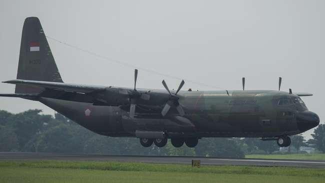 Ilustrasi Pesawat Hercules. (ANTARA-Widodo S. Jusuf)