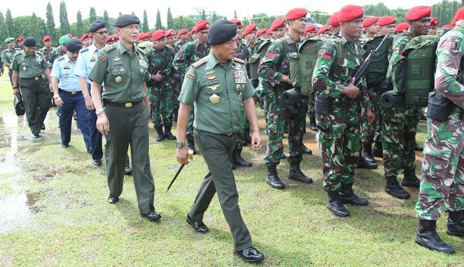 Jenderal TNI Moeldoko - Indonesia siap melatih penembak Australia dan AS