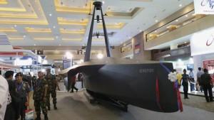 Kapal Intai Tanpa Awak Bonefish di Pameran Alutsista Indo Defence