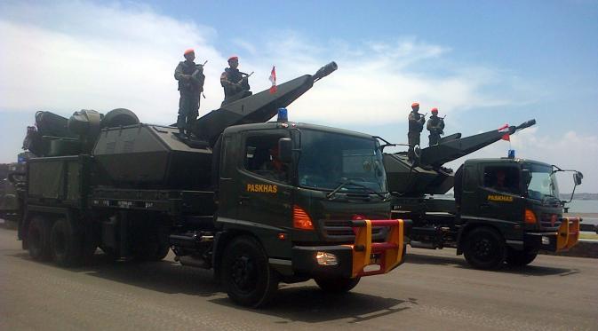 Oerlikon Skyshield TNI AU HUT TNI ke 69