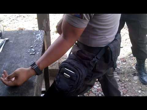 Polisi Adu Panco Sampai Patah Tulang