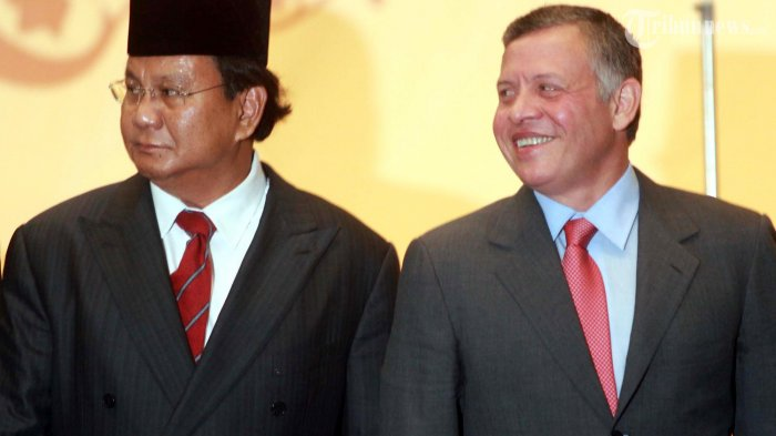Prabowo Subianto Bersama Raja Jordania, Raja Abdullah II