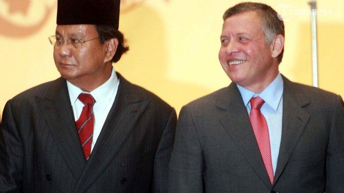 Prabowo Subianto Bersama Raja Jordania, Raja Abdullah II