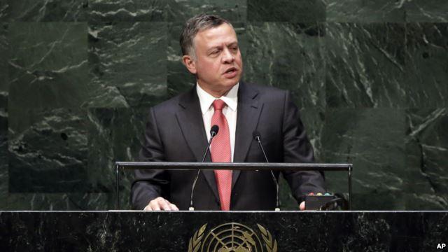 Raja Abdullah II Berpidato