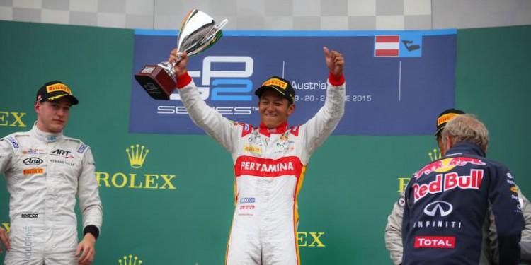 Ryo Haryanto Juara GP2 Austria 2015
