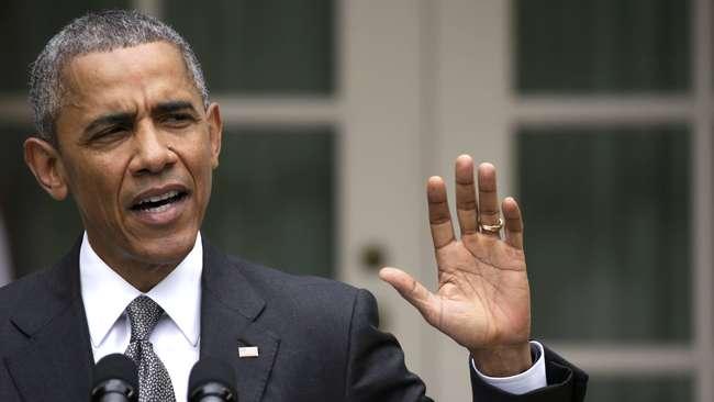 Barack Obama Terpeleset Lidah, Bilang AS Melatih ISIS - Reuters-Gary Cameron