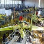 Foto Pabrik Jet Sukhoi Su-35 - 1