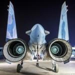 Foto Pabrik Jet Sukhoi Su-35 - 32