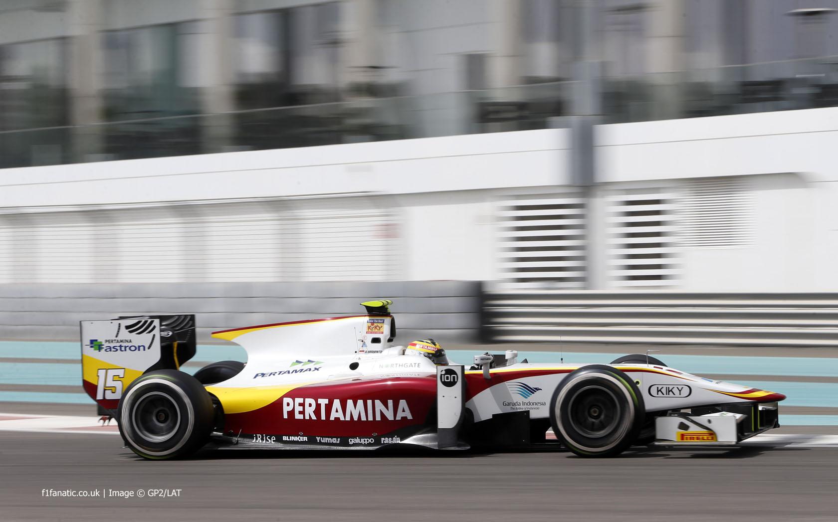 Mobil GP2 Rio Haryanto - GPMobilMotorDotCom