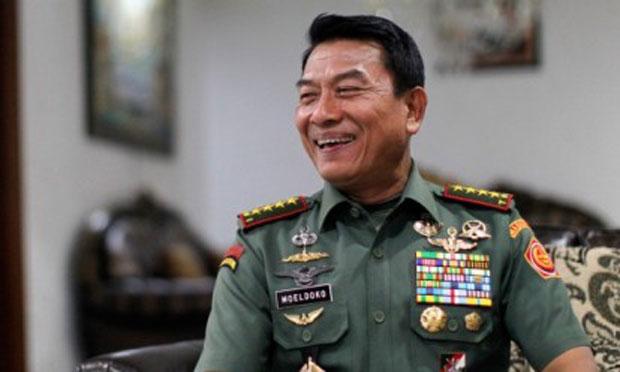 Panglima TNI Moeldoko
