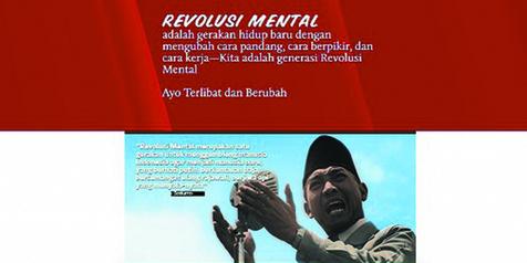 Selogan Revolusi Mental - @revolusimental