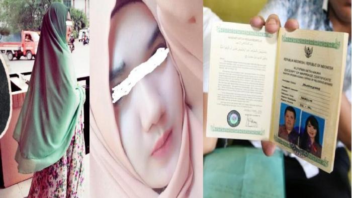 Andi Hilda Si Cantik Istri Pak Haji dalam Busana Muslimah Hijab Besar (Tribun Makassar)