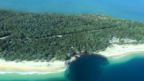 Lubang Raksasa Inskip Point Queensland