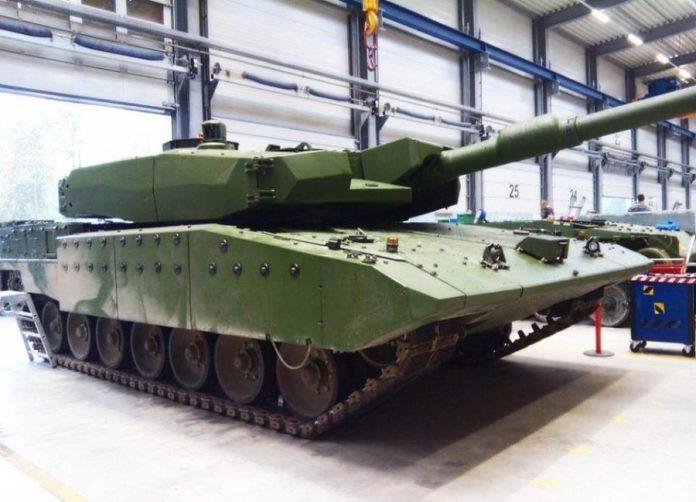 MBT Leopard 2 Revolution RI TNI