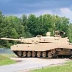 Tank Leopard 2RI TNI AD menjalani test drive