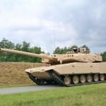 Tank Leopard 2RI dalam uji coba di Jerman