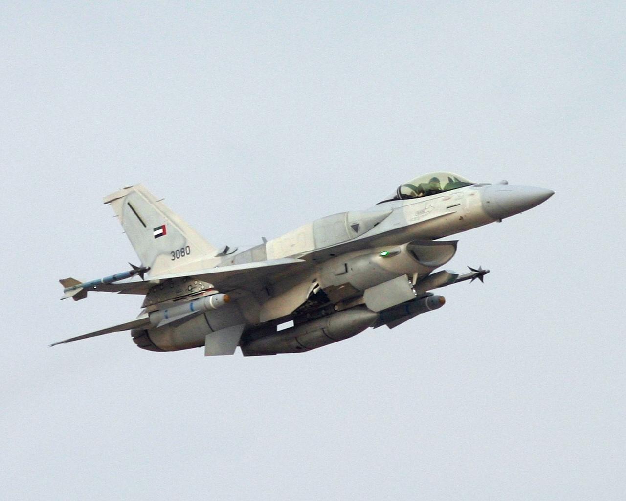 F-16 Blok 60 UAE