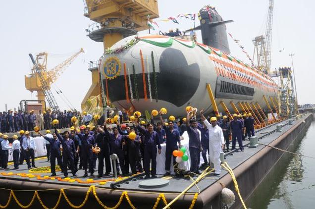 Kapal Selam Scorpene India