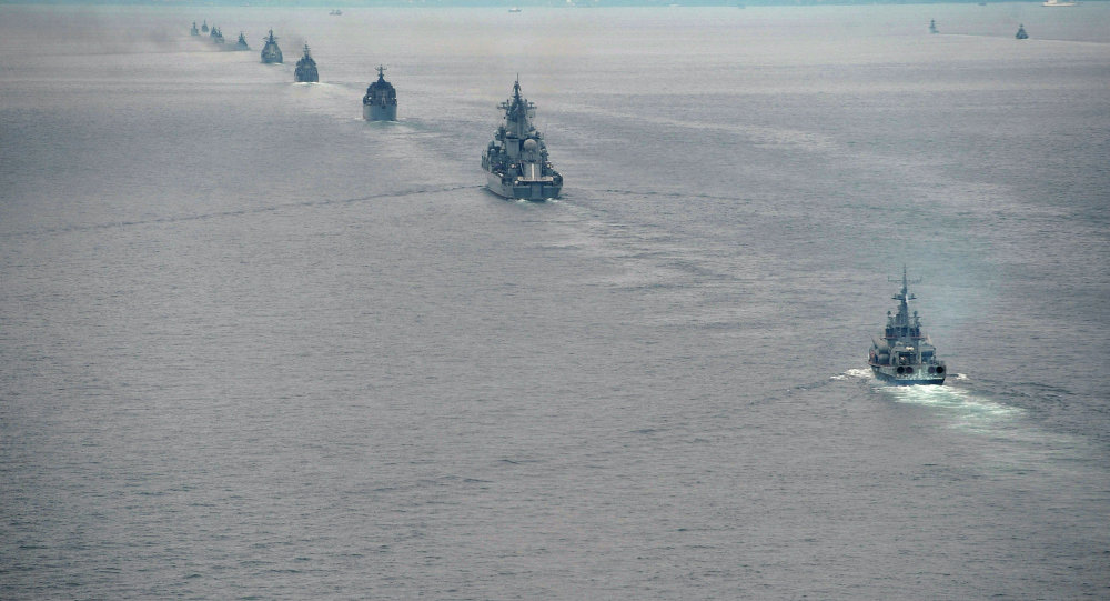 Latihan Multilateral Naval Exercise Komodo 2014 di Batam