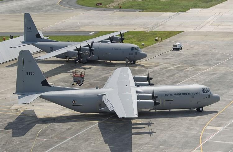 Pesawat Angkut Hercules C-130J Kanada
