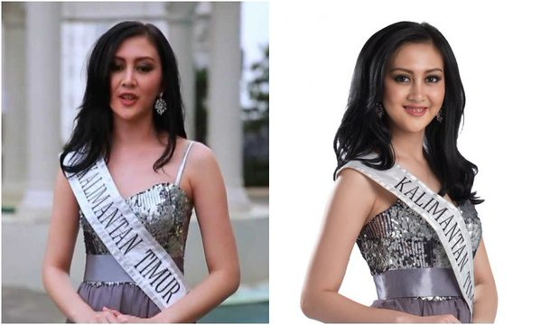 Puty Revita Finalis Miss Indonesia 2014