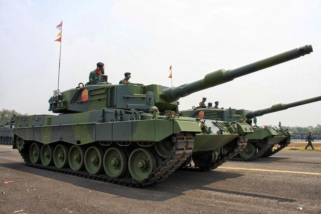 Tank Leopard 2 Indonesia