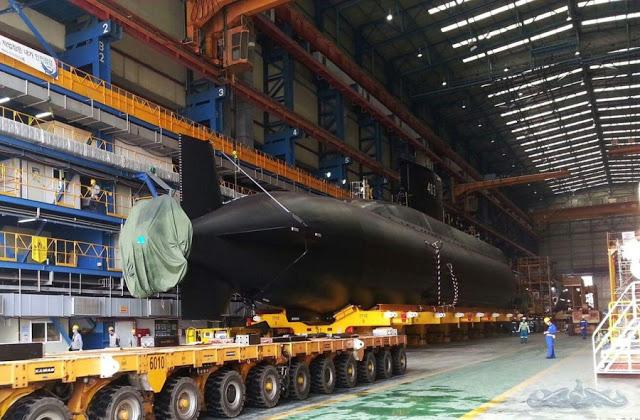 Kapal Selam KRI 403 Nagabanda Pesanan TNI AL