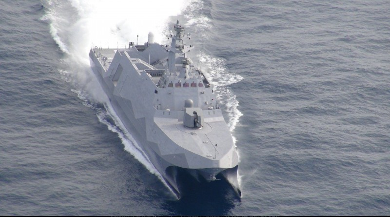 Korvet Catamaran Siluman Taiwan