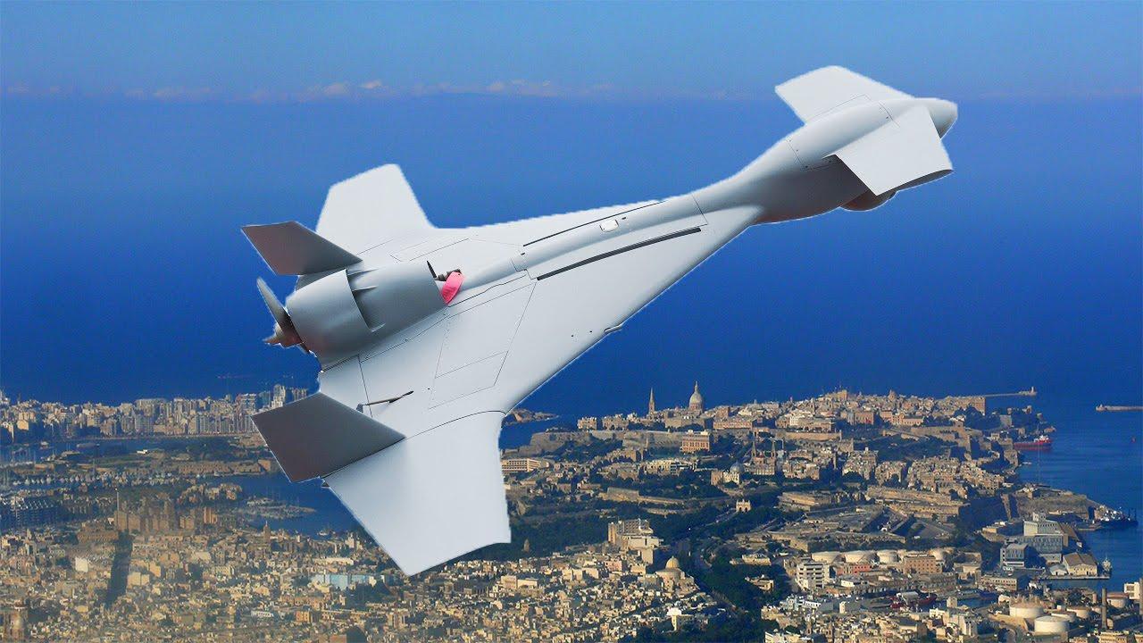 Drone Bunuh Diri Israel - Harop Drone