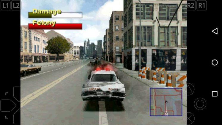 Nyolong Mobil Polisi, Eit Cuma di Game Driver 2 Kok hehe