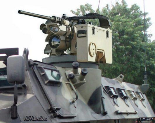 RCWS Protector Nordic Terpasang di Anoa